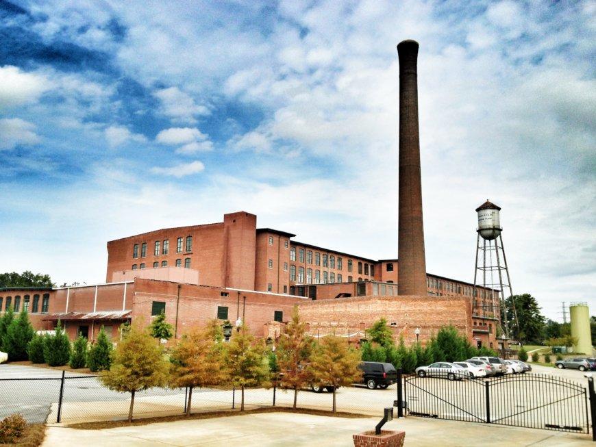 Monaghan Mill In Greenville Sc Rear Elevation
