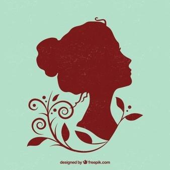 Beautiful Woman Silhouette 23 2147522581