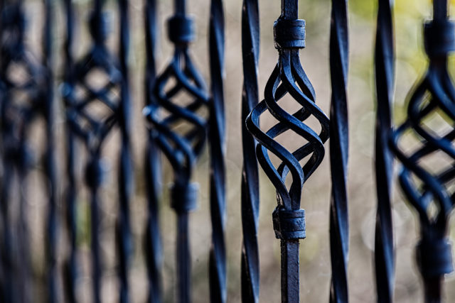 Fence Railing Wrought Iron Barrier 51002
